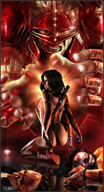The Revenge of the Scarlet Hawk by supermarioART