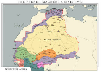 Franco-Tuareg and Ivory Coast Wars - 1943 by Charles471
