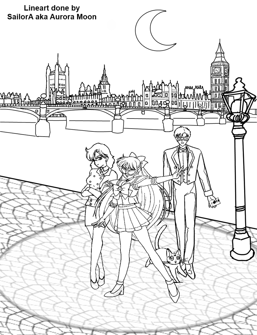 sailor v coloring page image by lady aurora moon on deviantart