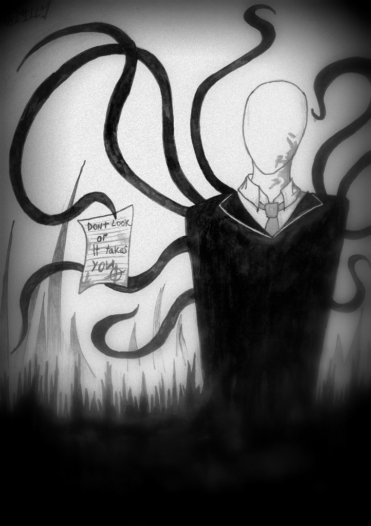 Slenderman by ILL-Zzz