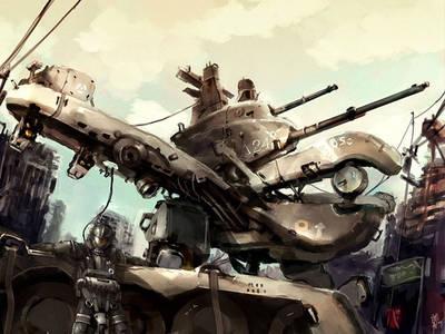 Sci fi tank by 12doctors