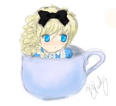 Alice Sketch by THISxISxMYxNAME