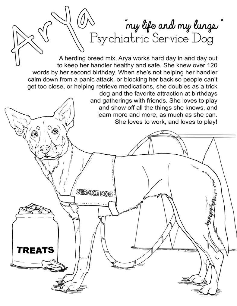 Arya The Service Dog