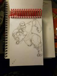 The Hulk  by EMComics779