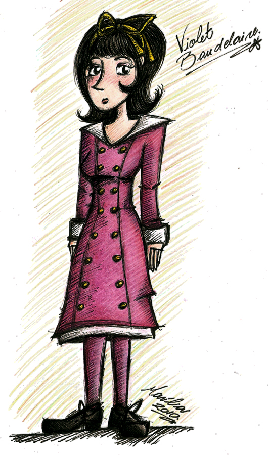 Violet Baudelaire by StrangeMahh on DeviantArt