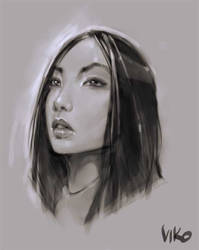 Asian Portrait by viko-br