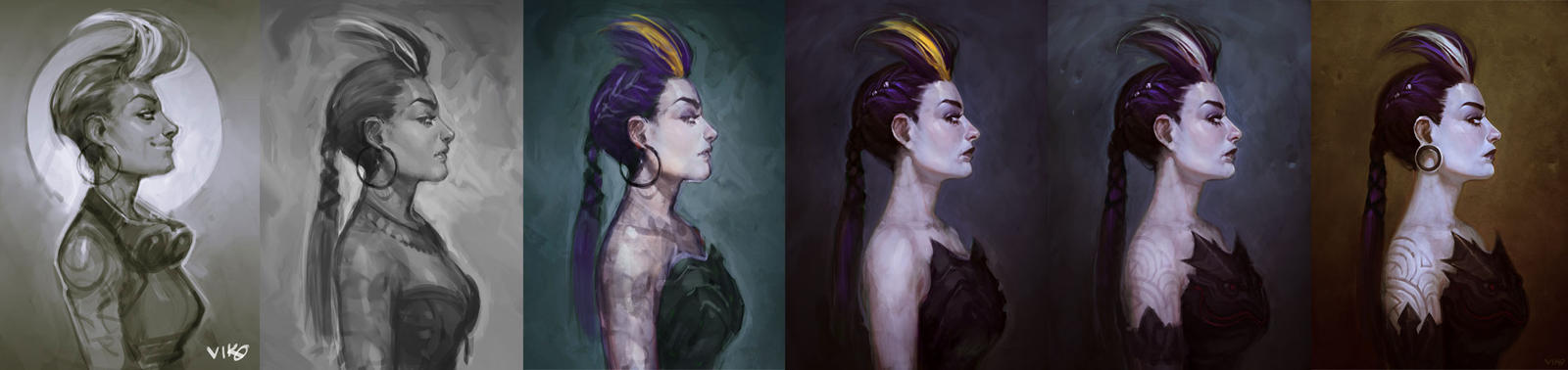 Dark Princess Process by viko-br