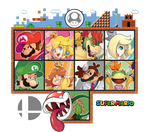 Super Smash Bros Ultimate: Super Mario Series