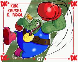 Smash Ultimate #67: King Krusha K Rool by Andy-roo78