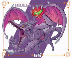 Smash Ultimate #65: Ridley by Andy-roo78