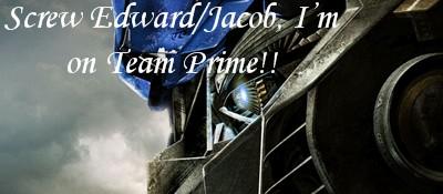 Team Prime by Pilotslover
