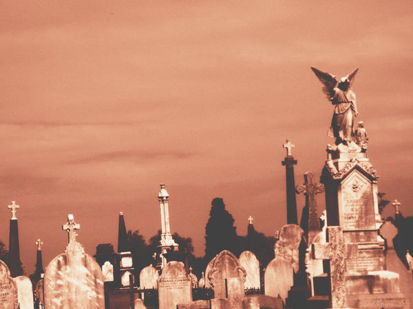 the cemetary by poupon82