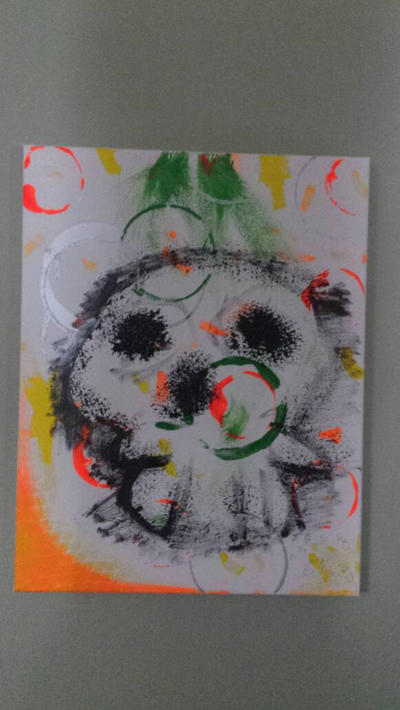 splatter skull by nailguy101