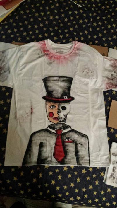 mask tshirt by nailguy101