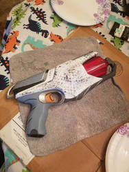 Finished. painted nerf blaster #3