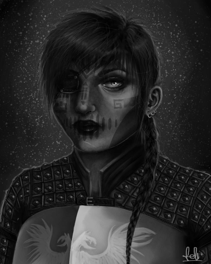 DA: Svala of the Grey by Felinna