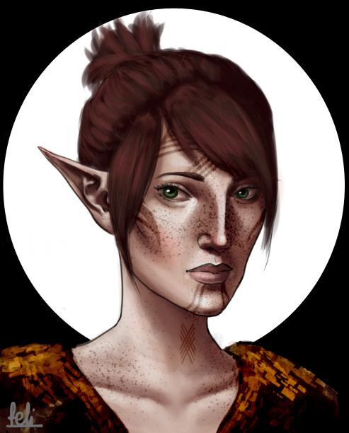 Amelia Mahariel by Felinna