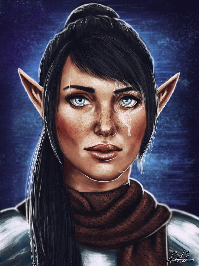 Commission: Leto Lavellan by Felinna