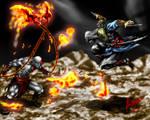Kratos vs Ezio Auditore