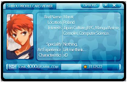 SoNiC4000's Profile Picture