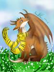 Lobito as a dragon (contest entry)