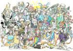 The whole gang pt 3 (OCs) Final version