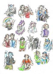 Giveaway doodles
