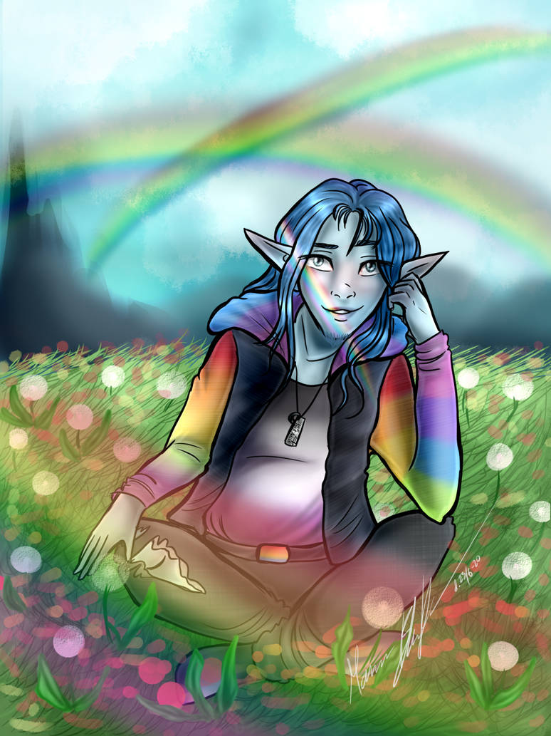 Triple rainbow - Happy Pride 2020 (Persona)