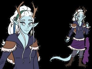 Custom character: Dija (art trade)