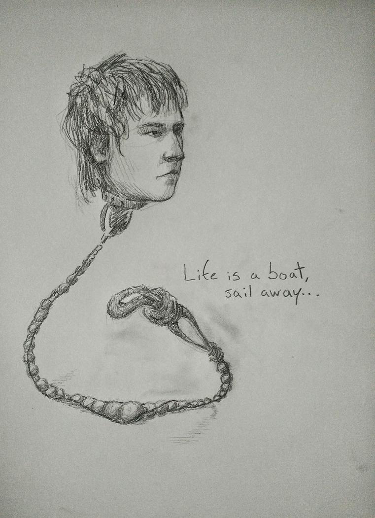 Life a bracelet, sail away. by Elizabeph