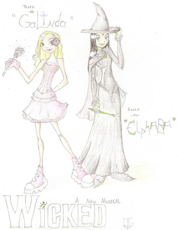 Good Witch or Bad Witch? by theghostlyartist on DeviantArt