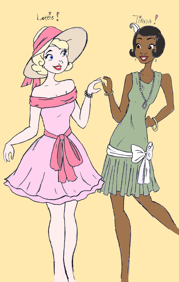 Lottie and Tia by theghostlyartist on DeviantArt