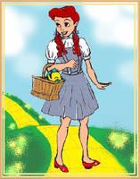 Ariel as Dorothy by theghostlyartist