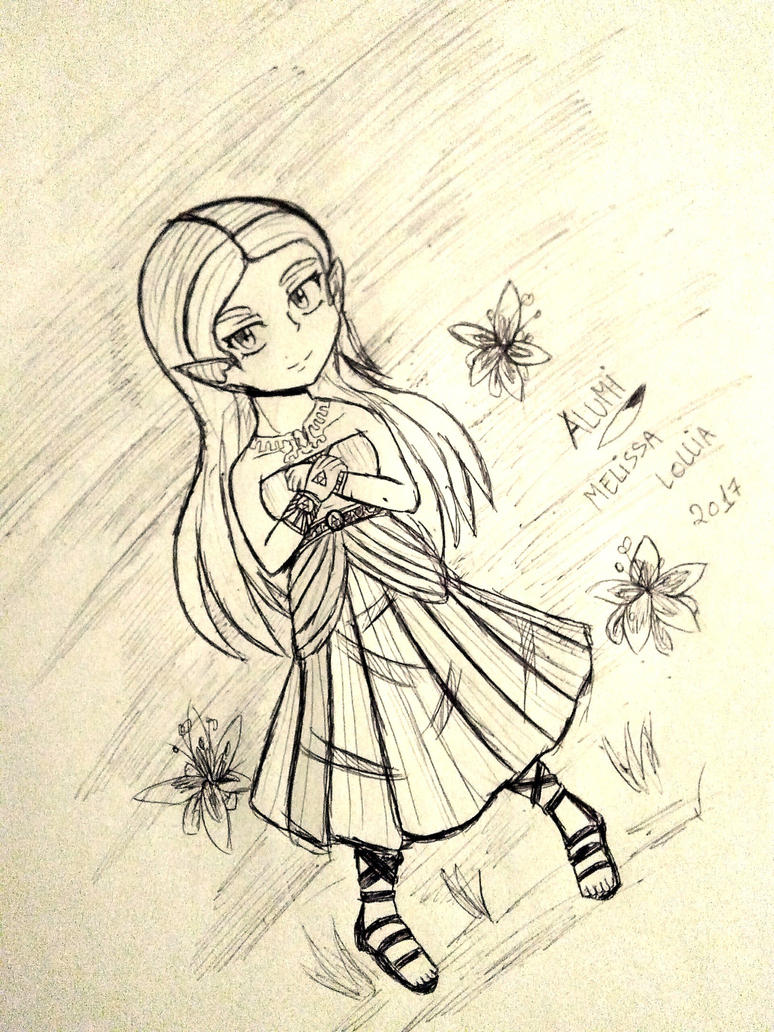 Zelda: My goal of Being a princess by Alumi-Melissa-Lollia