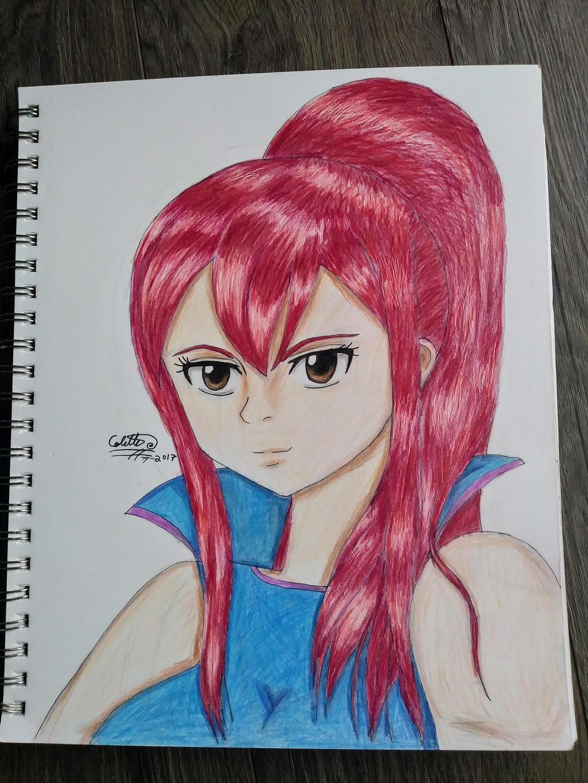 Erza Scarlet by iamanimegirl12