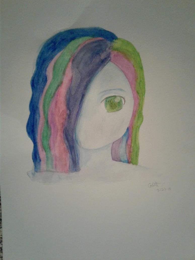 Pastels and Green by iamanimegirl12