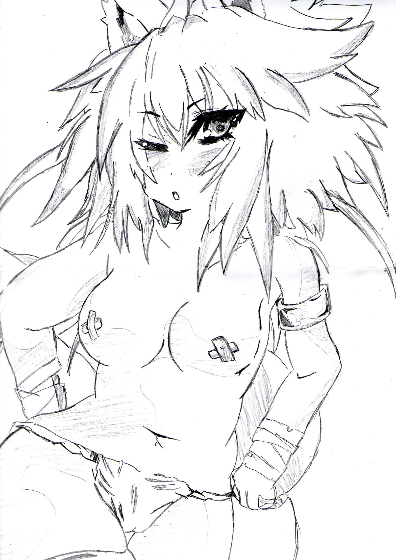 Cool drawing ecchi by sonicfreack on deviantart for Awesome easy to draw drawings