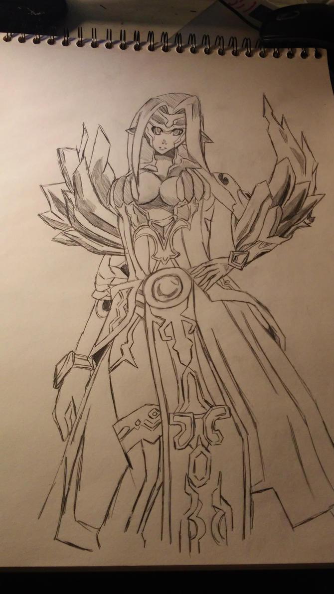 uzuriel aura kingdom by sonicfreack
