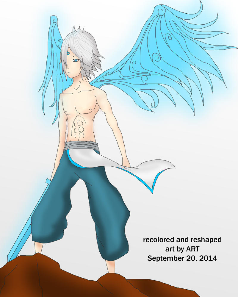 Karya 25 Reshaped And Recolored by whitecanvas95