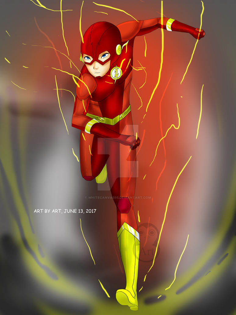 done...the flash ( barry allen )... hope you likes by whitecanvas95
