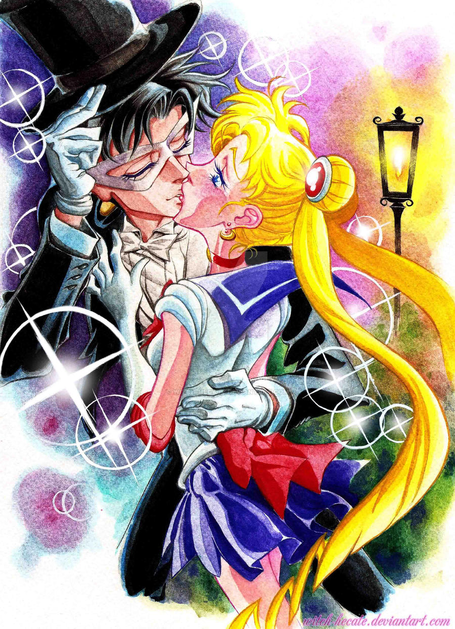 Sailor Moon in Love by witch-hecate