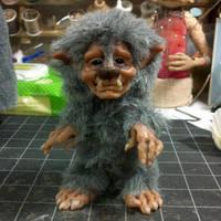 Lonni the Werewolf by oddfae