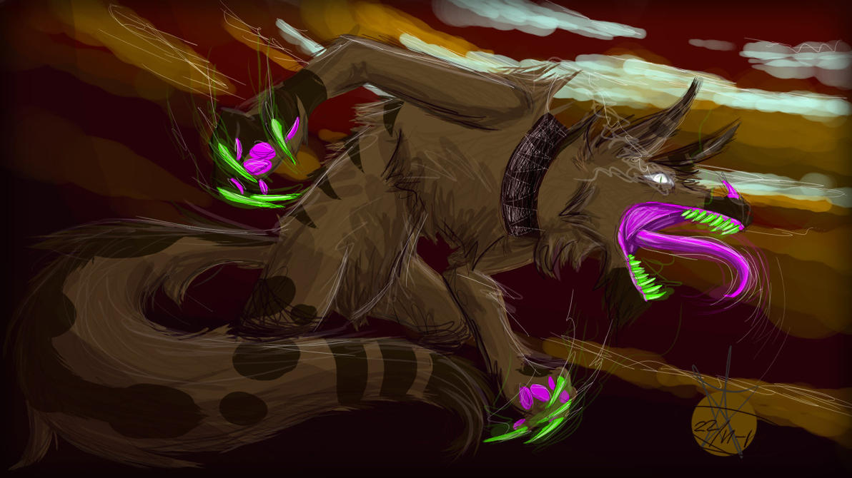 Wolfie Berserk by Snufbat