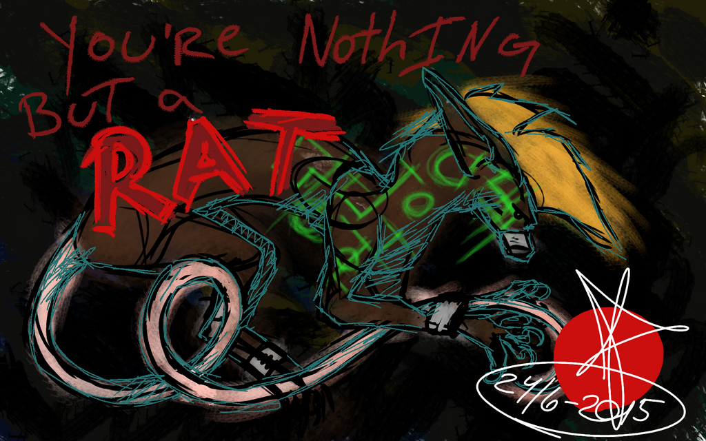 Nothing but a Rat by Snufbat