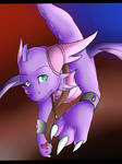 The Deep eyes of a Dragoness