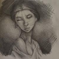 Portrait Practice  by spiritofterrabithia