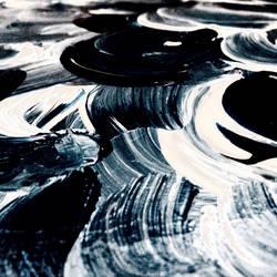 Waves ( closeup )