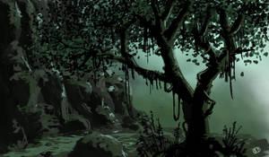 Getting darker by Spookydier