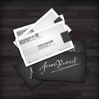 Bronck's Beer - Business Cards by Jammyy