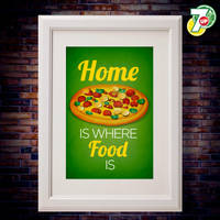 Home is where food is!